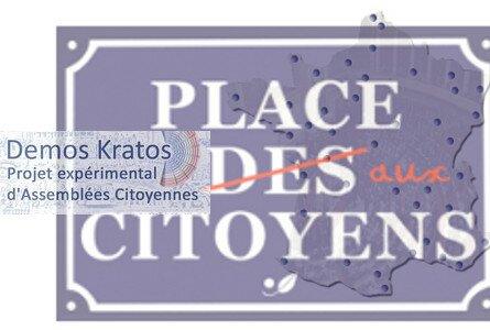 Demos Kratos, projet expérimental d'Assemblées citoyennes dans toute la France : envie de le découvrir et d'y participer ? Réunions demain à Grenoble, à Lyon le 6 aôut, à Marseille le 8 août, à Nice le 13, à Toulouse le 15